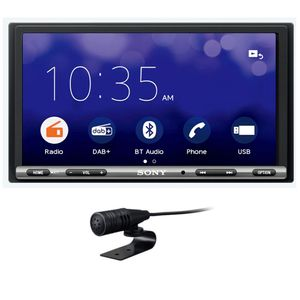 Sony XAV-3550D 2-DIN Moniceiver Weblink Bluetooth Digitalradio DAB+