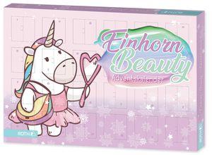 ROTH Einhorn-Beauty-Adventskalender aus Pappe