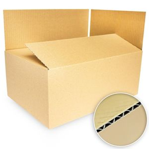 25x Kartons Warensendung 350 x 240 x 150 mm A4 Faltschachteln Faltkarton