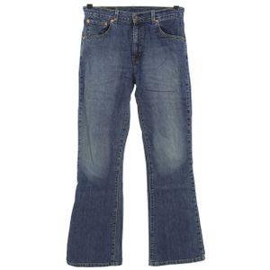 #6375 Levis,  Damen Jeans Hose, Denim ohne Stretch, blue, W 32 L 32