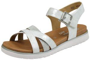 remonte Damen klassische Sandalen Silber Schuhe, Größe:41