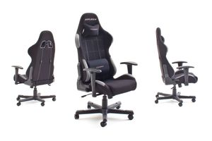 MCA Furniture Chefsessel Racer 5 Schwarz; 74 cmx52 cmx123-132 cm, 62505SG4