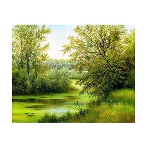 1 Satz Diamantmalerei (ohne Rahmen) , Farbe Frühling