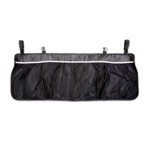 Rücksitz Organizer 99x35,5cm Auto KFZ Aufbewahrungstasche Rücksitztasche Schwarz Autositz Tasche Kinder Spielzeugtasche