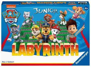 Ravensburger Paw Patrol Junior Labyrinth Brettspiel Familienspiel ab 4+ Jahre