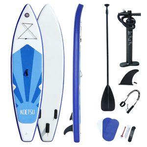Koetsu 3.2 m SUP Board Stand up Paddle for aquatisch Surfen Aufblasbar 12kg