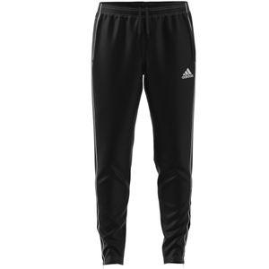 adidas Jogginghose Herren schwarz lang mit verschließbaren Taschen, Größe:L, Farbe:Schwarz