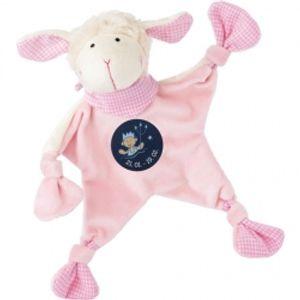 sigikid Schnuffeltuch Sternzeichen   rosa Stier