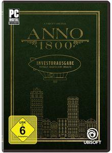 Anno 1800 Investorausgabe (CIAB) - CD-ROM DVDBox