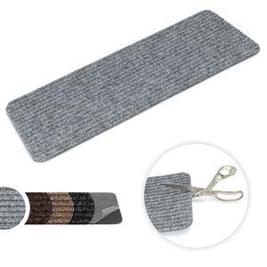 Stufenmatte Tulus Rechteckig - Aufleger ohne Winkel Grau
