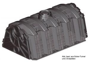 Sicker-Tunnel Set LKW befahrbar 600 Liter GRAF 230020