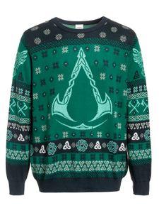 Assassins Creed Strickpullover Weihnachten Valhalla Symbol S