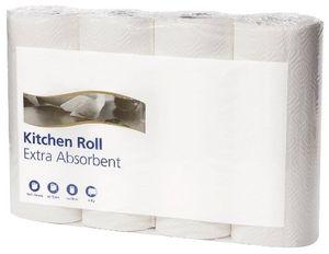Küchenrolle 26x24cm 2lag. weiß 4 Stück