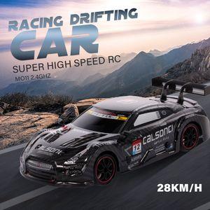 1/18 RC Car Racing Driften Auto 28 km / h 4WD High Speed Rennwagen Kinder Geschenk RTR