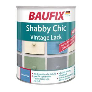 BAUFIX Shabby Chic Antik Lack Buntlack - Grün Blau Grau Weiß 750 ml  Himmelblau