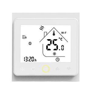 Tuya ZigBee3.0 Smart Thermostat 5A Woechentlich programmierbarer Temperaturregler APP-Steuerung Sprachsteuerung Kompatibel mit Alexa / Google Home fuer Wasserbodenheizung fuer Home Offices Villas