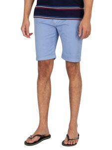 Pepe Jeans Herren Queen Chino Shorts, Blau 30W