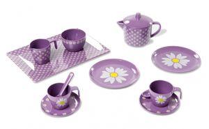 Smallstuff teeservice Melamin 13-teilig violett