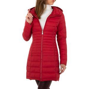 Ital-Design Damen Mäntel Trenchcoats Rot Gr.l