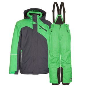 Skianzug Kinder Jacke + Hose Gr. 176 - grün - Gr. 176   Grün