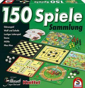 Schmidt Spiele Spielsammlung grün 150 Spiele