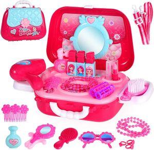 Mädchen Mädchen Make-up Set mit 2-in-1 Komplettes Make-up Set für Jungen und Mädchen