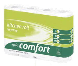 wepa Küchenrolle Comfort 3 lagig hochweiß