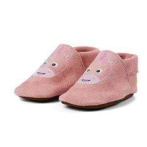 AFFENZAHN Babyschuh Leder Einhorn pink