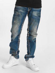 Cipo & Baxx Herren Straight Fit Jeans Ekki in blau Cipo & Baxx
