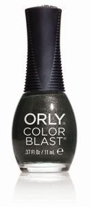 Orly - Color Blast Nagellack, 11 ml, Farbe:Grau, Effekt:Glitters, Typ:Gunmetal Matte Satin