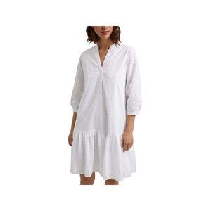 ESPRIT Kleid weiß EEE in Weiß, Größe