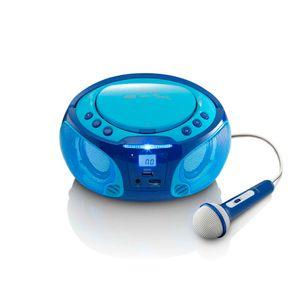 Lenco Radio SCD-650, CD-Player, Farbe: Blau