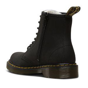 Dr. Martens - 1460 Serena J Mohawk 2408001 Black Kinder Schuhe Winter gefüttert Kids Größe 33 (UK1)