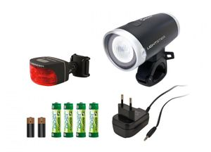 LED Frontleuchte Sigma Lightster 20 Lux Rücklicht Cuberider I Beleuchtungsset Fahrradlicht vorne hinten