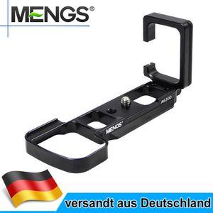 MENGS A6300 L Bracket Schnellwechselplatte für Sony A6300 Kamera mit Arca-Swiss