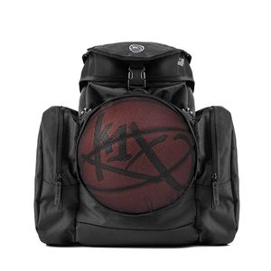 K1X Ball Camp Backpack - Basketball Rucksack, Farbe:Schwarz