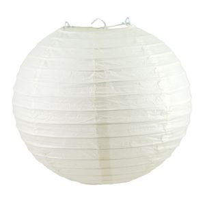1 Lampion 30cm , Farbauswahl:ivory / elfenbein810