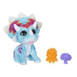 Hasbro E7963EU4 FurReal Topper, mein Baby-Triceratops