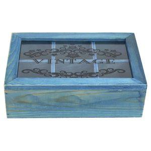 Mllaid Holz-Multifunktions-Storage-Box Fach Desktop-Schmuck Perlen Veranstalter Kosmetik-Container dekorative Frauen Juwel Geschenkartikel Fall