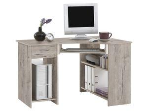 """Eckschreibtisch Winkelschreibtisch Computertisch Schreibtisch """"Jay"""" Sandeiche"""