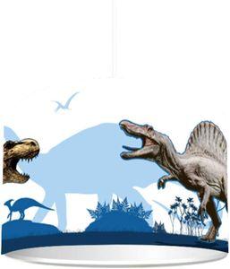 """Kinderzimmer Lampenschirm""""Dinosaurier"""" KL68   kinderleicht eine Dino Lampe erstellen   als Steh- oder Hängeleuchte/Deckenlampe   perfekt für Dinosaurier-begeisterte Jungen"""