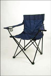 Campingstuhl in blau
