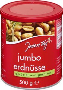 Jeden Tag Jumbo Erdnüsse geröstet & gesalzen (500 g)