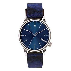 Komono Winston Camo Blu KOM-W2167 quarzwerk Herren-Armbanduhr