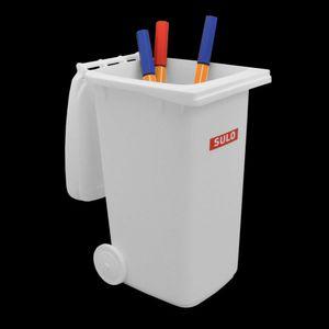 Sulo Mini Mülltonne 240 liter weiß