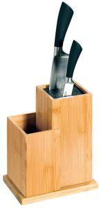 KESPER  Messerblock mit Kunststoffborsten 18,5 x 12,7 x 24 cm, 58025