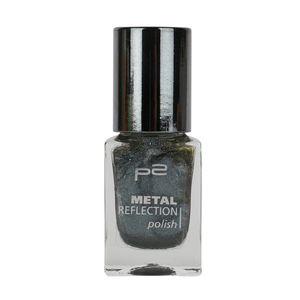 P2 Nägel Nagellack Nagellack Metal Reflection Polish 833907, Farbe: 010 grey jazz, 10 ml