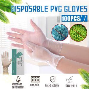APIYOO 1000Pcs Einweghandschuhe, Einmalhandschuhe, Untersuchungshandschuhe, Latex Handschuhe, puderfrei, unsteril, disposible gloves
