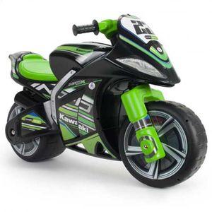 Injusa Laufender Motor Winner Kawasaki 99 cm schwarz / grün