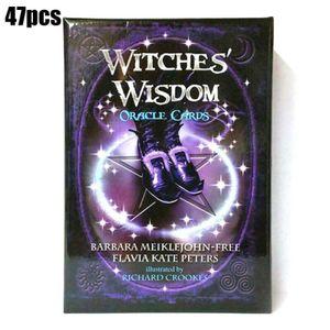 47pcs Witches Wisdom Oracle Tarotkarten Familie Party Kartenspiel Brettspiel Neu